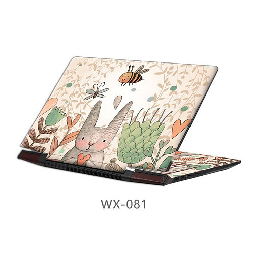 Notebook Cover Skin Protector Fashion-Style Laptop Sticker