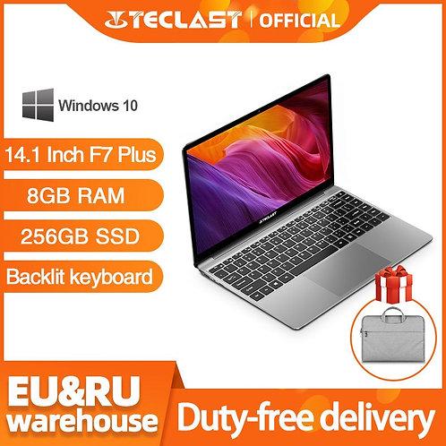 """Teclast F7 Plus Laptop 14.1"""" Win 10 HD Intel N4100 QC1.1 GHz 8 GB RAM 256 GB SSD"""