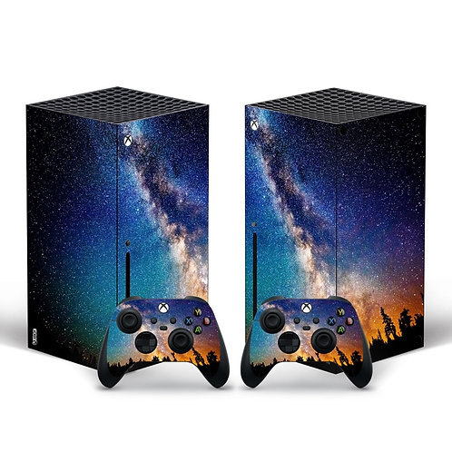 For Xbox Series X  Cover for Xbox Series X Console and 2 Controllers