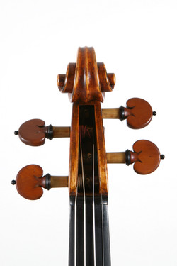 Sergio Tordini Violin Scroll