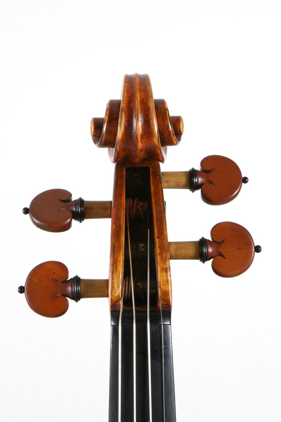 violon défilement