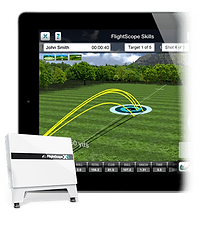 flightscope fitting and training