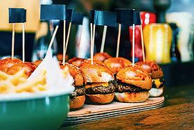 Mini hambúrgueres