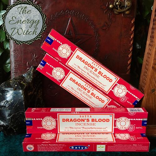 Dragons Blood - Satya Incense 15gm