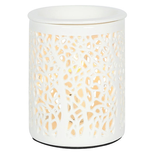 TREE SILHOUETTE ELECTRIC OIL BURNER