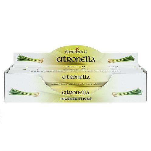 Citronella Elements Incense Sticks