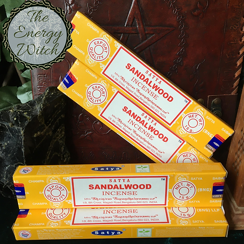 Sandalwood - Satya Incense 15gm