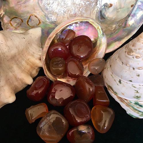 Sardonyx - Tumbled Stones