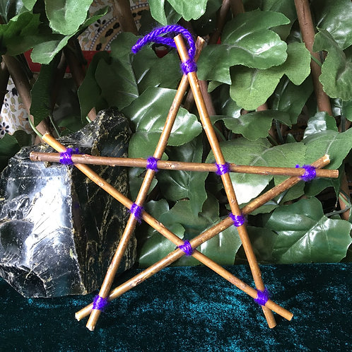 Basic Pentagram - Purple Small