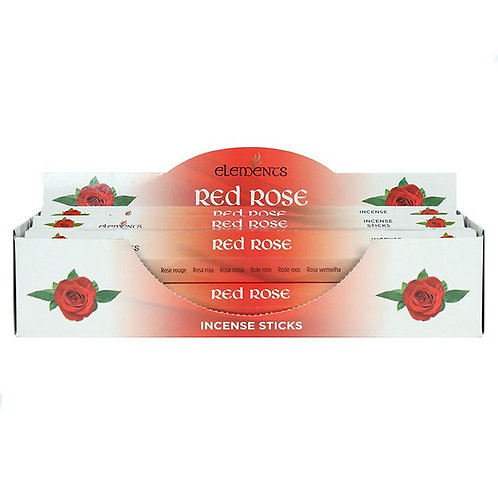 Red Rose Elements Incense Sticks