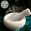 Thumbnail: Small - White Marble Pestle & Mortar - 8x5.5cm