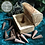Thumbnail: Mini Incense Cone Smoke Box - Mango Wood