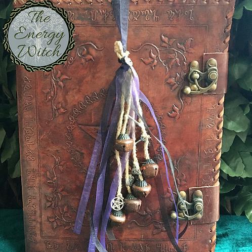 Witches Bells - Black & Purple Ribbon