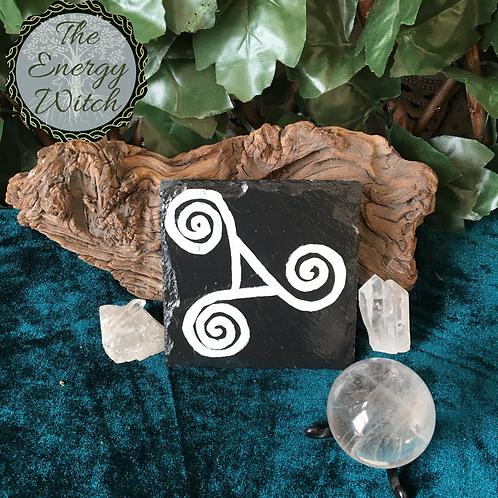 Pagan Symbols Slate Tile - Singles