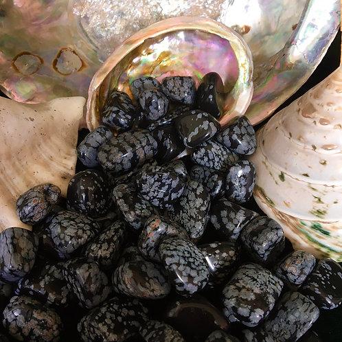 Snowflake Obsidian - Tumbled Stones