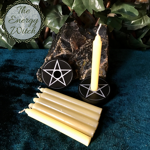 Yellow Spell Candles