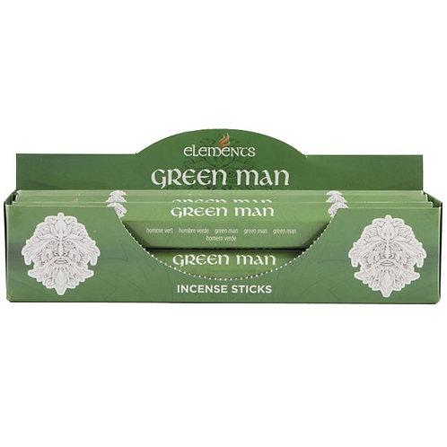 Green Man Elements Incense Sticks