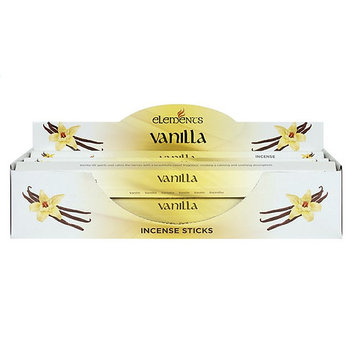 Vanilla Elements Incense Sticks