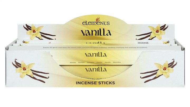Vanilla Elements Incense Sticks