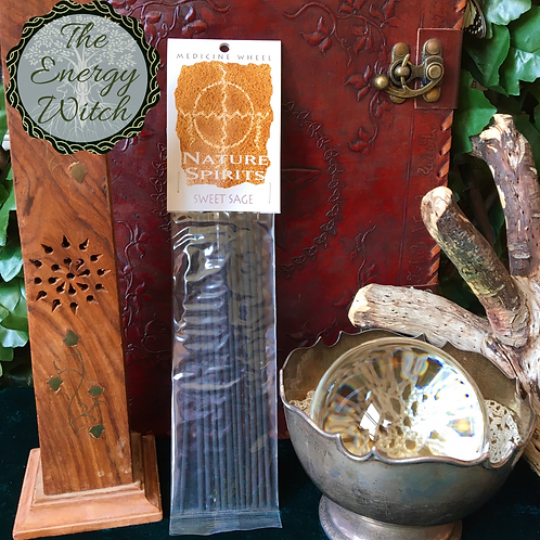 Sweet Sage - Nature Spirit 12 Incense Sticks