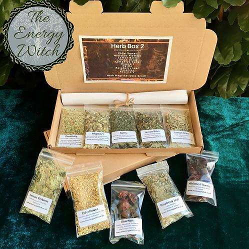 Herb Box 2 (10 x Packets)