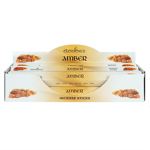Amber Elements Incense Sticks
