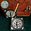 Thumbnail: Tree - Black Soapstone Incense Holder / Altar Tile