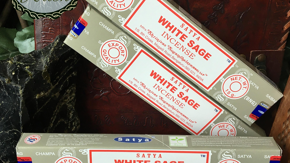 White Sage - Satya Incense 15gm