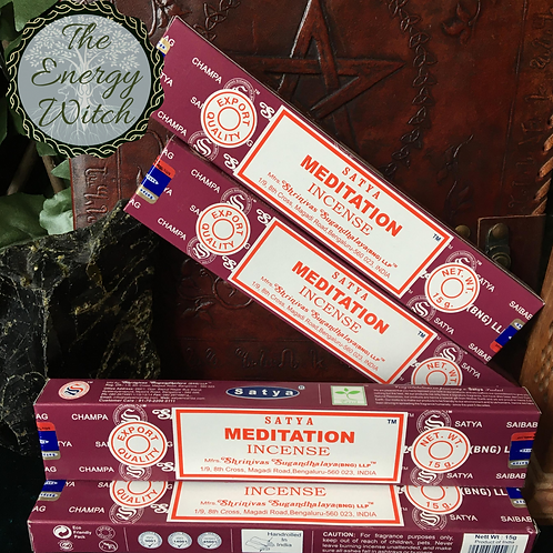Meditation - Satya Incense 15gm