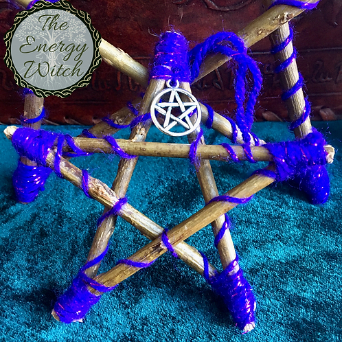 Mini Pentagram - Purple Sparkle