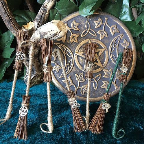 Mini Altar Besoms - Handmade