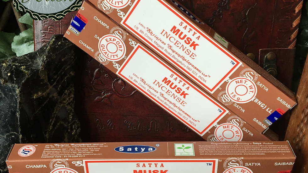 Musk - Satya Incense 15gm