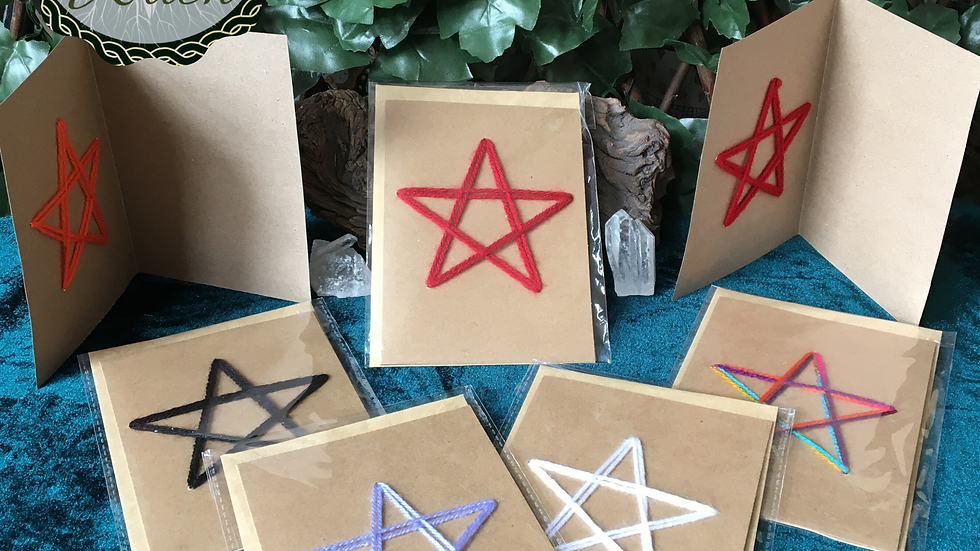 Pentagram Greeting Cards
