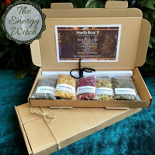 Herb Box 1 (10 x Packets)