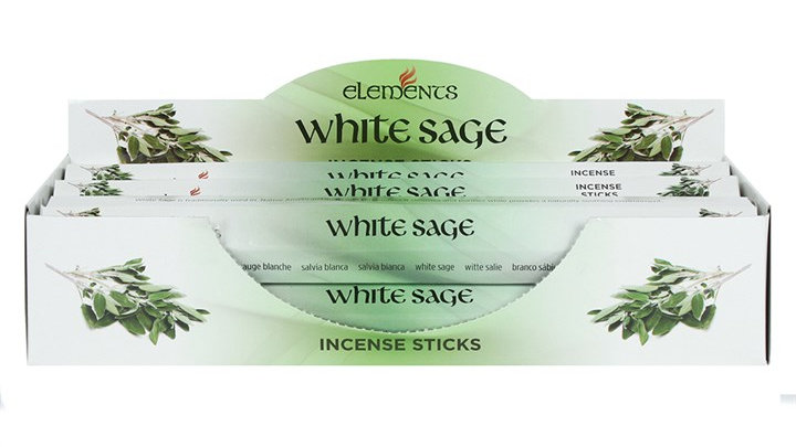 White Sage Elements Incense Sticks