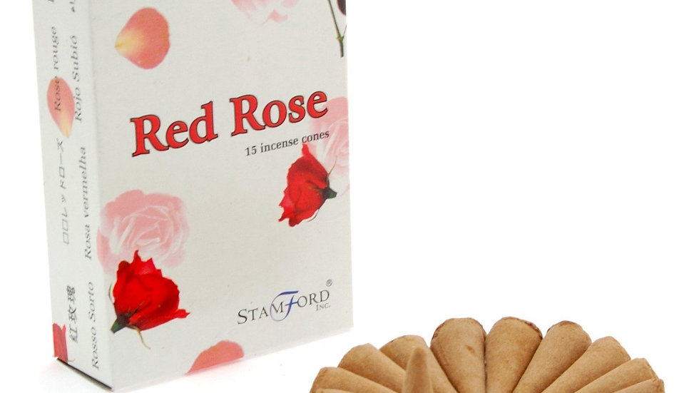 Red Rose Cones