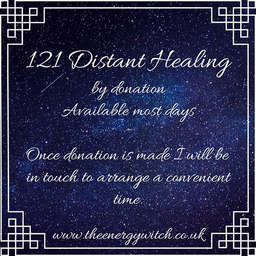 121 Distant Healing