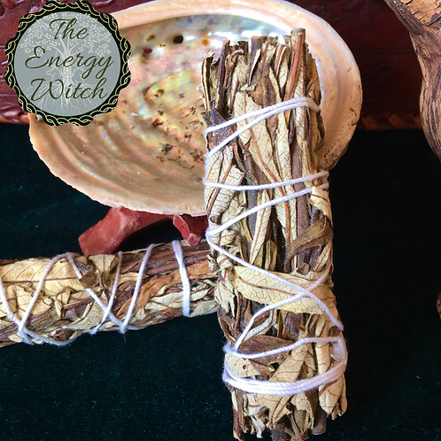 Small - Yerba Santa Smudge Stick - 10cm