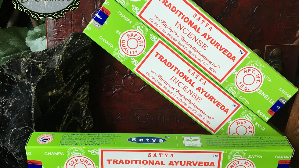 Traditional Ayurveda - Satya Incense 15gm