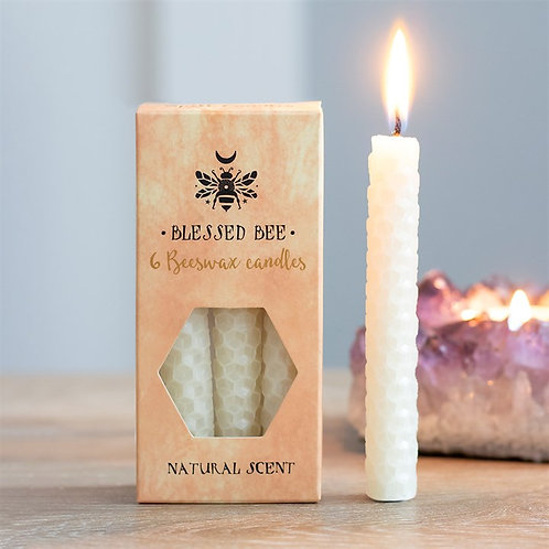 Cream BeesWax - Single - Spell Candle
