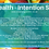 Thumbnail: Health - Intention Set