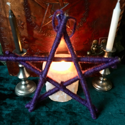 Pentagram - Purple - Small