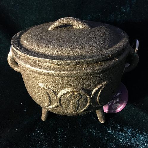 Triple Moon - Medium - Cast Iron Cauldron