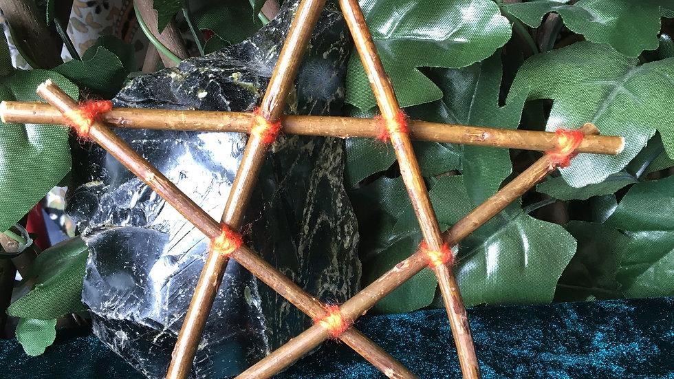 Basic Pentagram - Orange Small