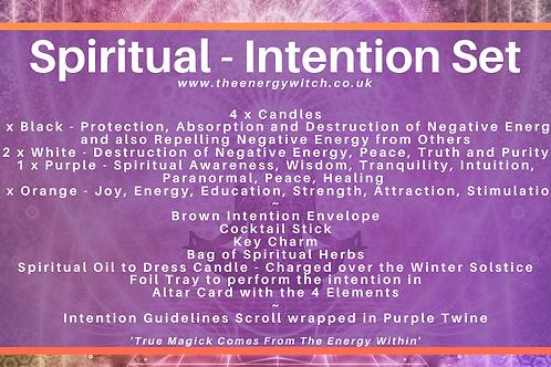 Spiritual - Intention Set