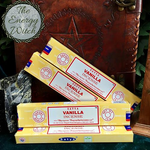 Vanilla - Satya Incense 15gm