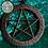 Thumbnail: Black Pentagram Dream Catcher