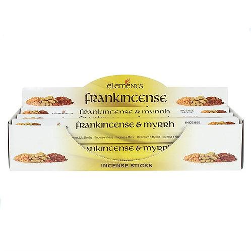 Frankincense & Myrrh Elements Incense Sticks