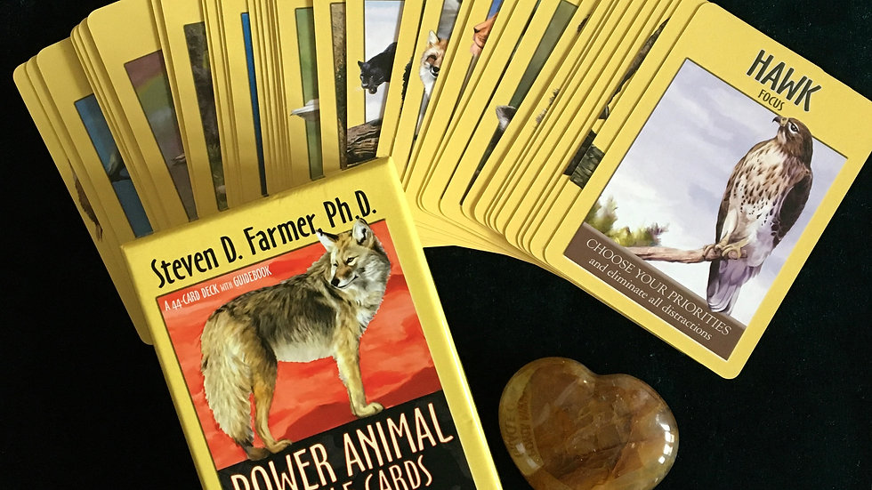 3 Card Psychic Reading - Power Animal Oracle