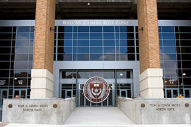 Red McCombs Red Zone at DKR Texas Memoral Stadium, The University of Texas at Austin